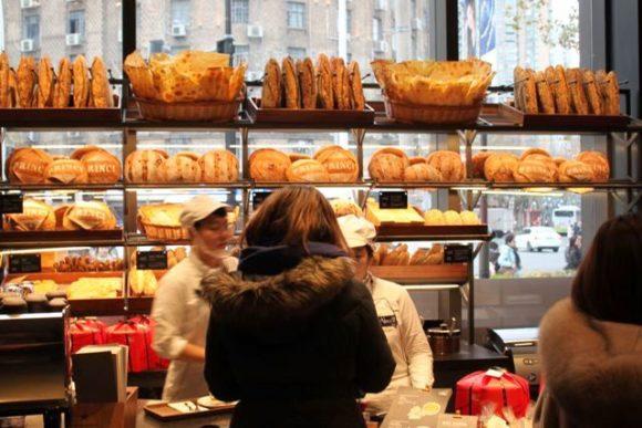 スタバロースタリー上海のパン