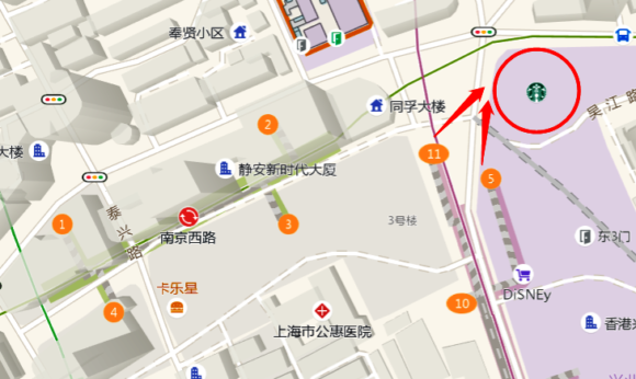 スタバロースタリー上海への行き方