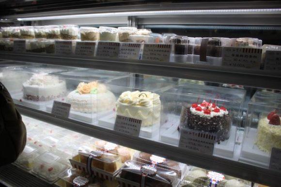 上海のケーキ屋さん紅宝石