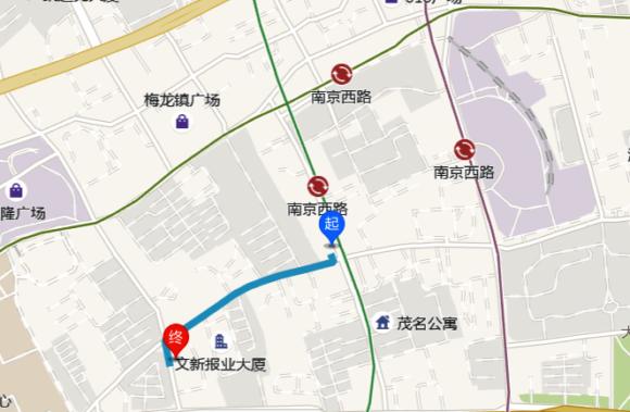 南京西路駅から恵食佳までの行き方